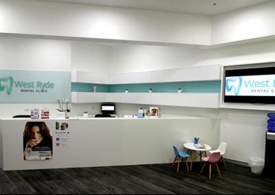 West Ryde Dental Clinic Reception
